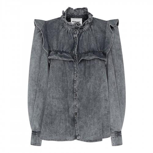 Serpent laminated nappa flat sandals