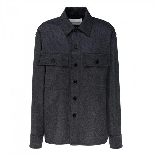 Roseau avio leather shoulder bag