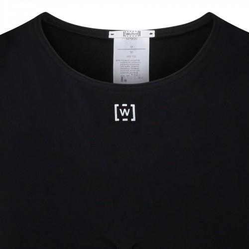 Pop feathers print twill silk shirt