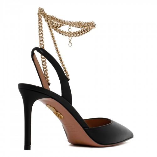 Supervee black shoulder bag
