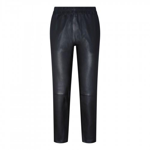 V-logo oversized poplin shirt
