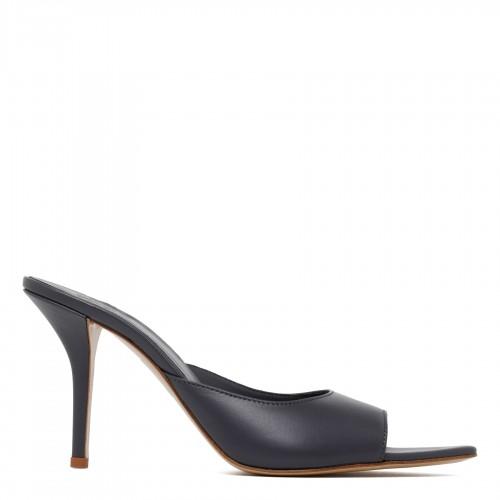 Turquoise linen T-shirt