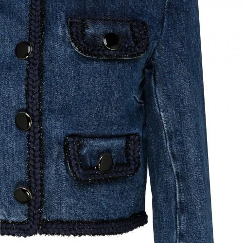 Two-tone silk and wool mini dress