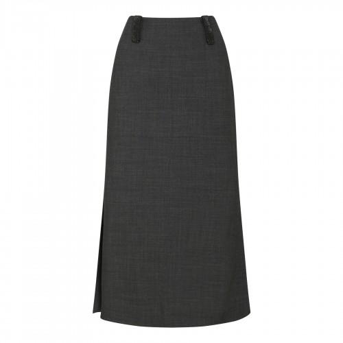 confetti detailed midi dress