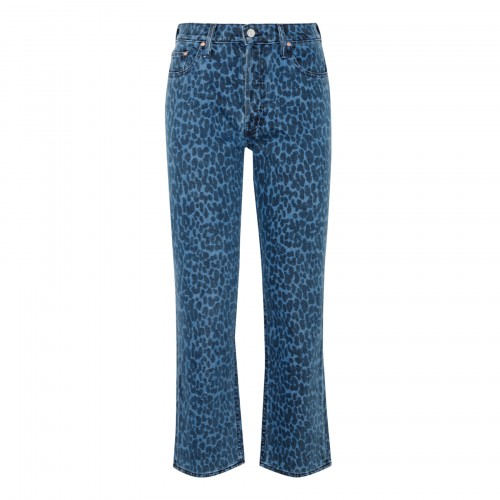 The Tomcat ankle length leopard jeans