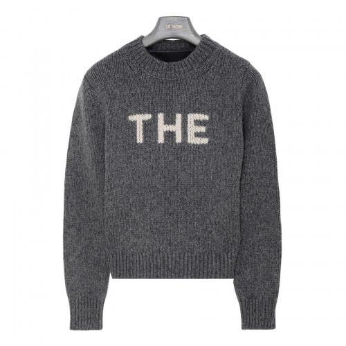 The Sweater in gray wool blend