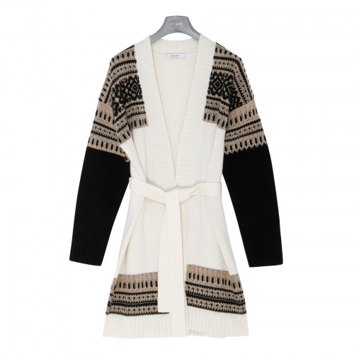 Buona wool and cashmere cardigan