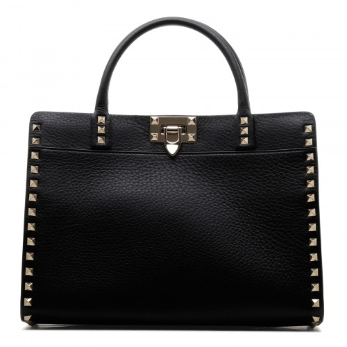 Rockstud black small handbag