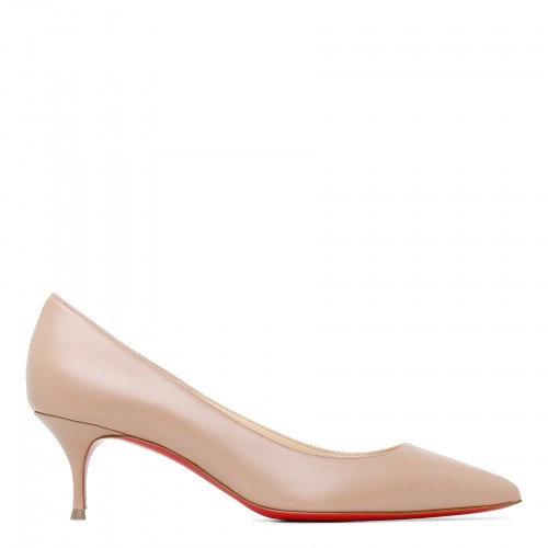 Kate 55 nude nappa pumps