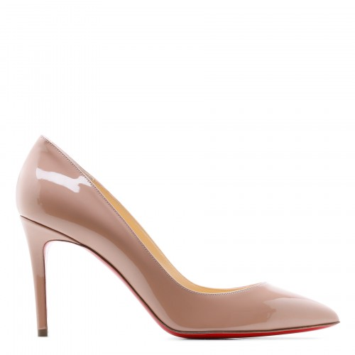 Pigalle 85 nude patent pumps