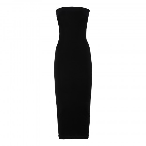 Aurora black tube dress