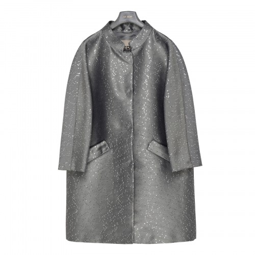 Sequin lurex coat
