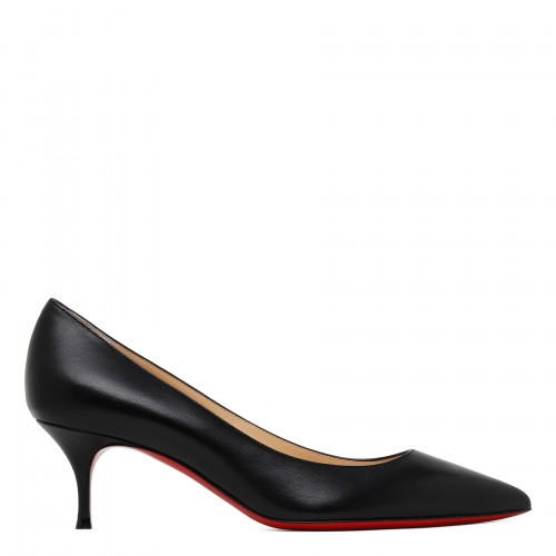 Kate 55 black nappa pumps