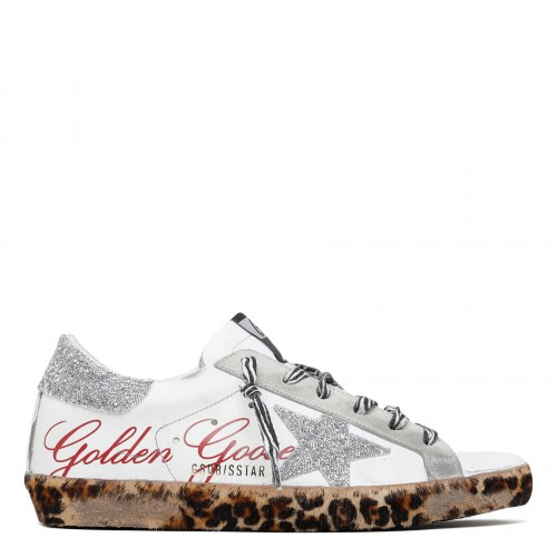 Superstar sneakers with glitter star
