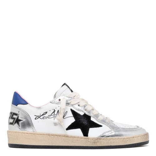 Ball Star white and silver sneakers