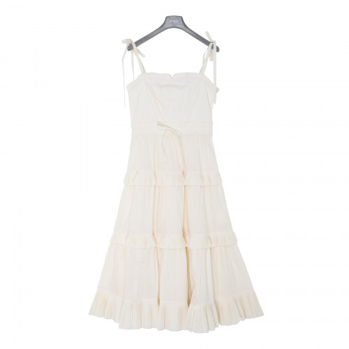 Lune white dress
