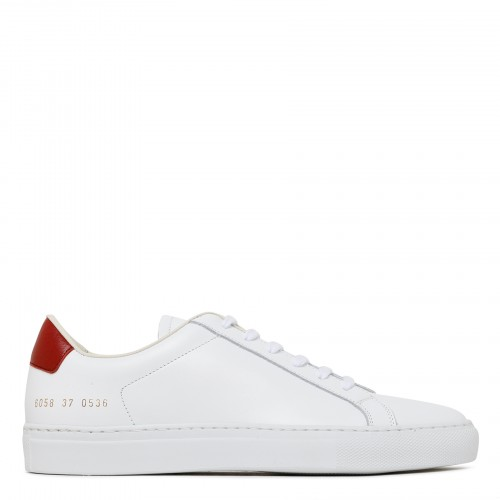 Retro Low white and red sneakers