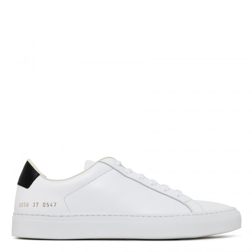 Retro Low white and black sneakers
