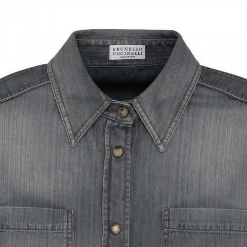 Gucci horse stirrup logo shirt