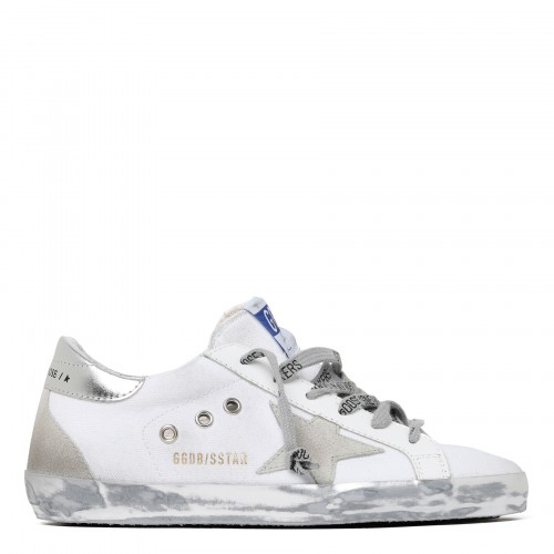 Superstar white low top sneakers