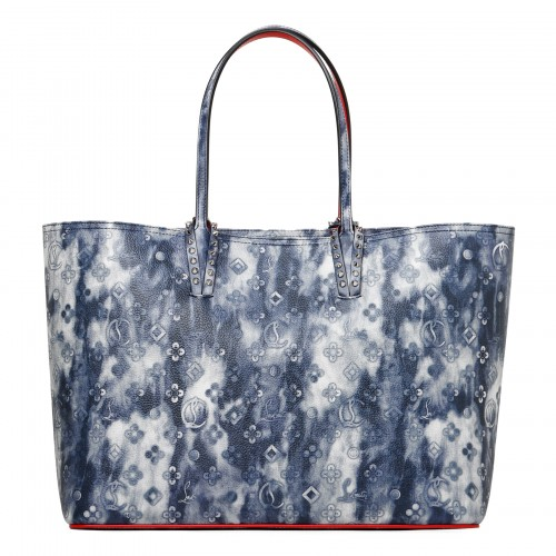 Cabata punk blue tote bag