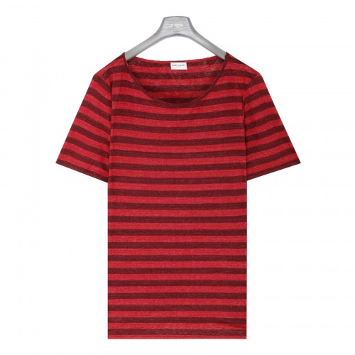 Dégradé striped boy-friend T-shirt