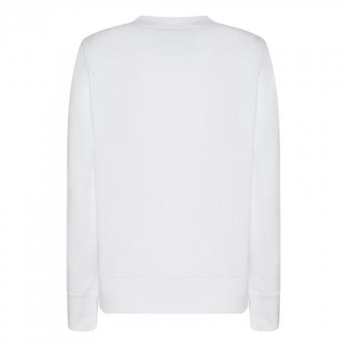 Black and white silk Phoenix Crepe de Chine pajama shir