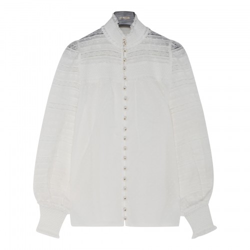 Candescent smocked shirt