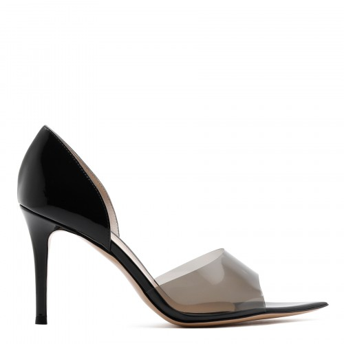 Bree PVC and patent leather pumps