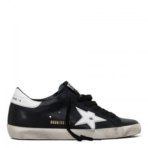 Superstar black and white sneakers