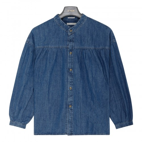The Gatherer chambray top