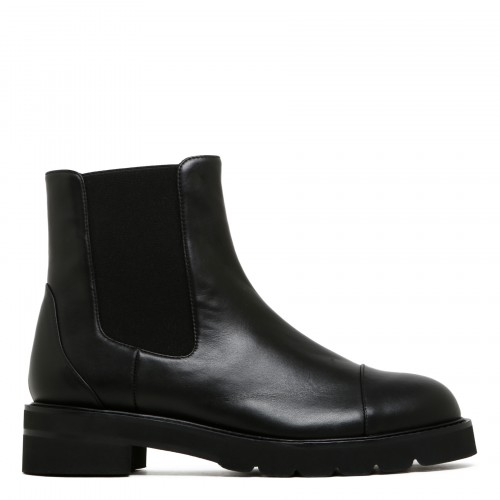 Frankie Lift black ankle boots