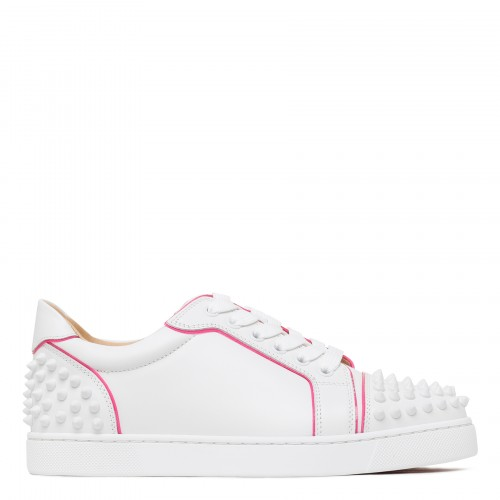 Vieira 2 white and pink sneakers