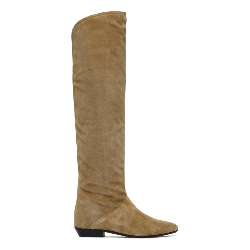 Seelys suede knee-high boots