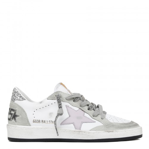 Ballstar low-top sneakers with glitter