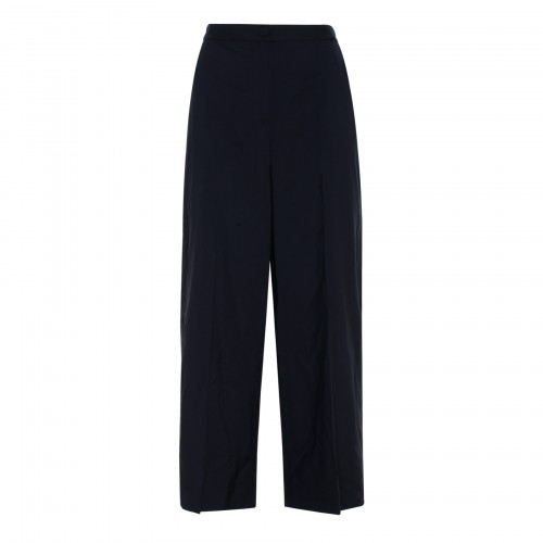 Wide ribbed pants