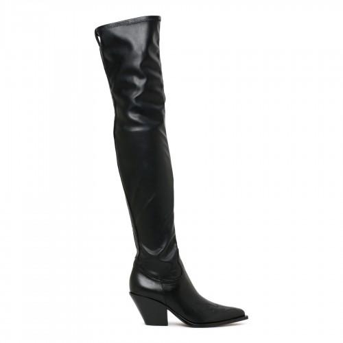 Burberry check motif silk dress
