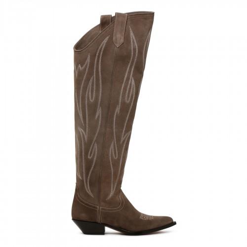 Travaillé lace trim bikini set blue