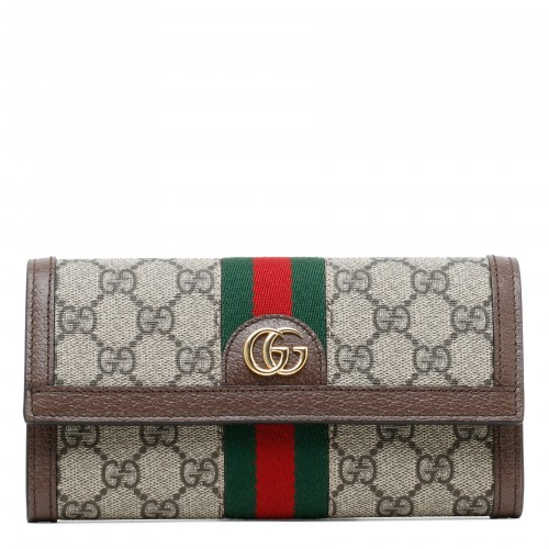 Ophidia GG continental wallet