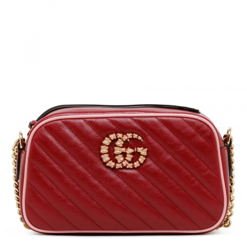 GG Marmont small red shoulder bag