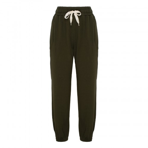 The Knock Out ankle bronze green sweatpants