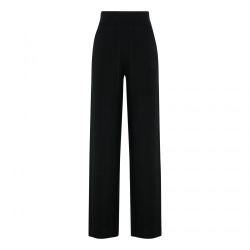 Giove black knitted pants