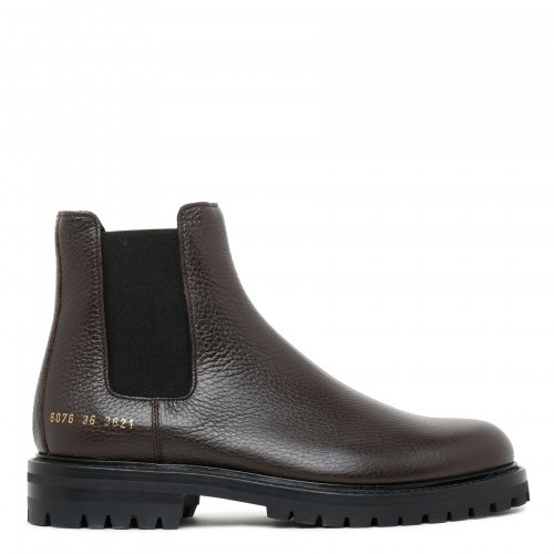 Winter Chelsea brown boots