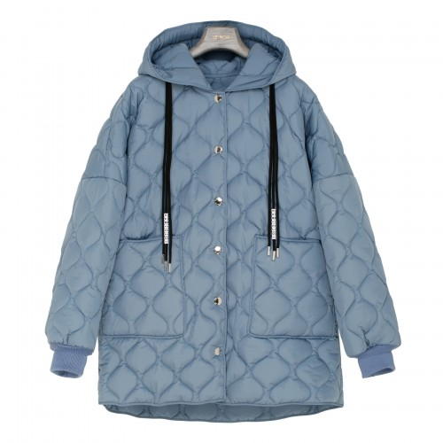 Puff Quilted blue jacket