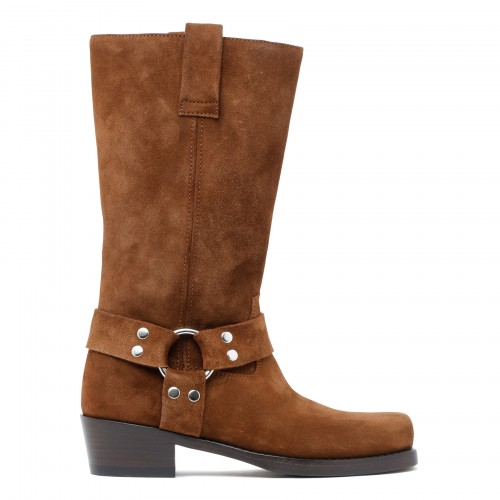 Roxy brown suede boots