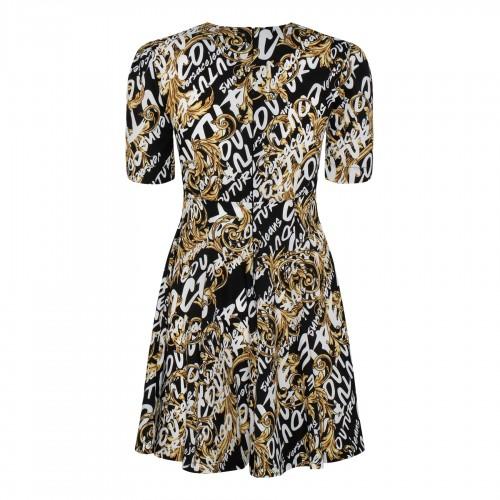 Long sleeves silk dress