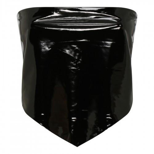 Cat motif plissé skirt
