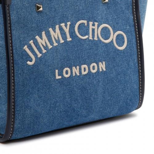 Black wool-blend jersey dress