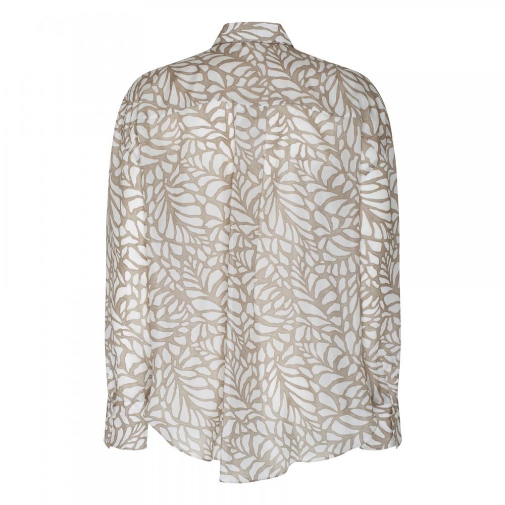 Light pink leather platform sandals