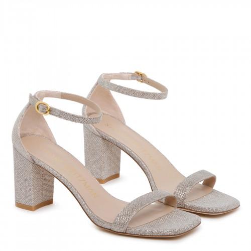 Striped cyan blue shirt dress